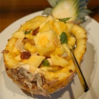 Ananas nuss Salat - Rezept