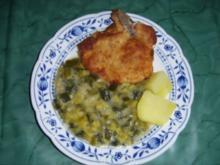 Thüringer Dicker Lauch mit Kotelett - Rezept