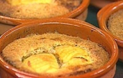Apfel in Mandelteig gebacken - Rezept