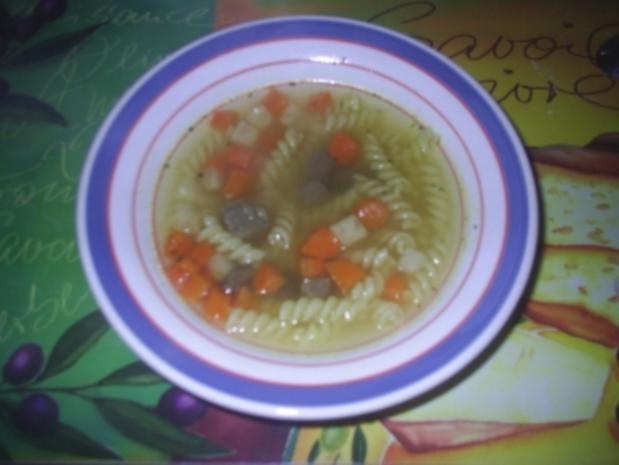 Suppe - Frische Suppe - Rezept