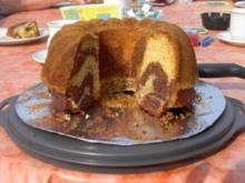 Marmor-Mandel-Kuchen - Rezept