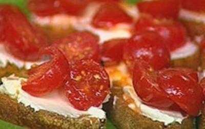Ziegenkäse Crostini - Rezept