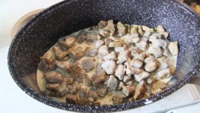 Bohnen Steakes Auflauf - Rezept