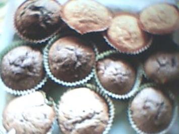 Cherry Chocolate Muffins - Rezept