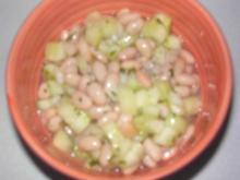 Gurken-Bohnen-Salat - Rezept