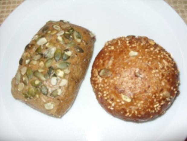 Frühstück - Teil 1 - Vollkornbrötchen - Rezept - Bild Nr. 2