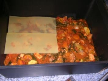 Gemüse Fisch- Lasagne - Rezept