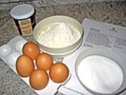 Biskuitrolle mit Quark-Mandarine - Rezept