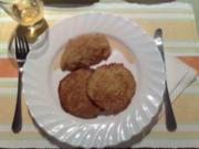 Reiberdatschi  (Kartoffelpuffer) mit Apfelmus - Rezept
