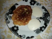 Hirsepuffer mit Zitronenjoghurt - Rezept