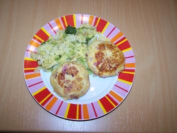 Kartoffel Buletten mit Wirsing - Rezept