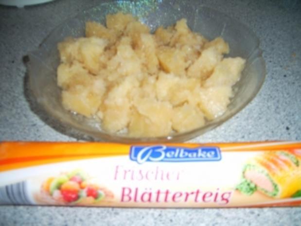 Blätterteigtaschen mit Zimt-Apfelmus - Rezept - Bild Nr. 3