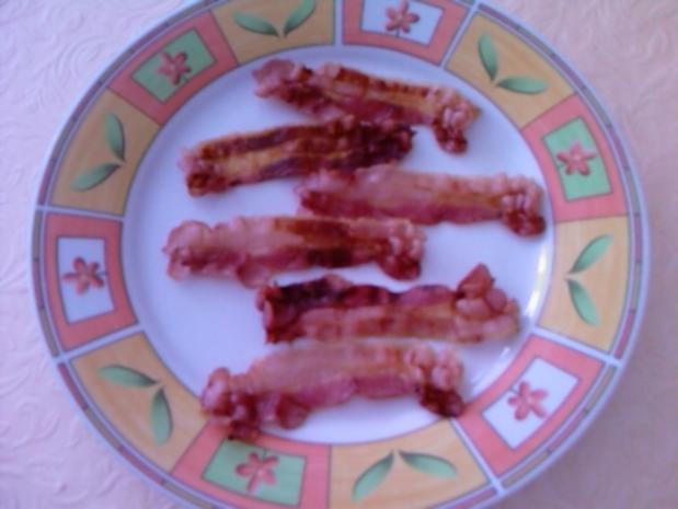 Bacon knusprig aus der Mikrowelle - Rezept