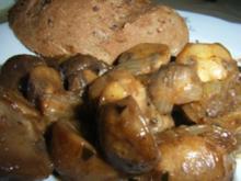 Beilage: Balsamico-Champignons - Rezept