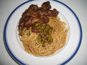 Spaghetti mit Kaninchen - maltesische Art - Rezept