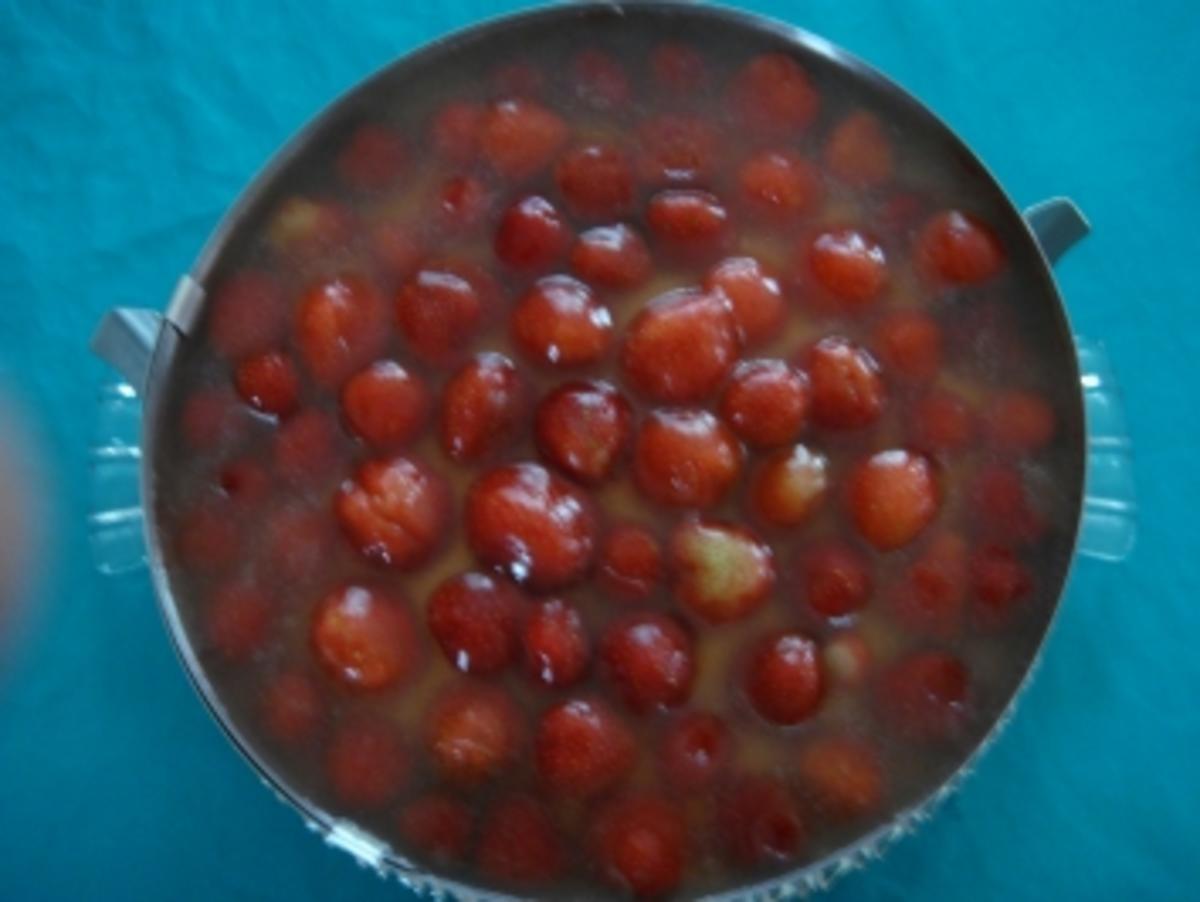 Torte: Erdbeertorte mit Pudding - Rezept Von Einsendungen angifischer