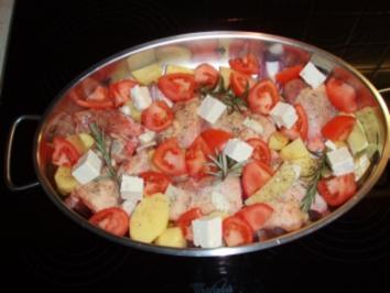 Hendl Haxerl oder Hühnerschenkel  toskanisch - Rezept