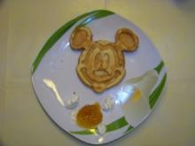 Micki Maus- Waffeln - Rezept