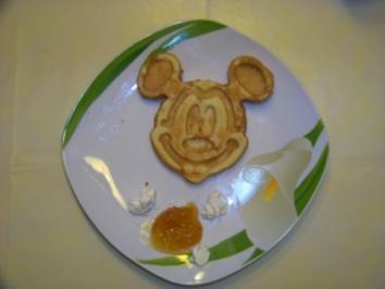 Rezept: Micki Maus- Waffeln
