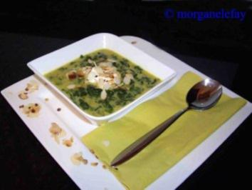 Curry Spinat Suppe - Rezept
