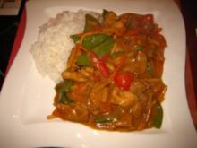 Asiatisches Hühner Curry - Rezept