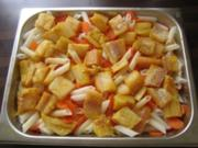 Seelachs-Nudelpfanne - Rezept