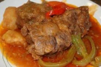 Beef Mechado - Rezept