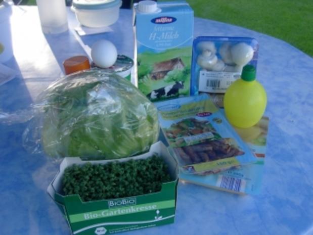 Champignon-Käse-Salat - Rezept - Bild Nr. 2
