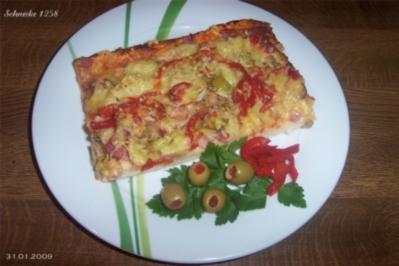 """Pizza """"nach Art des Hauses"""" - Rezept"""