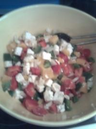 Paprika- Salat - Rezept