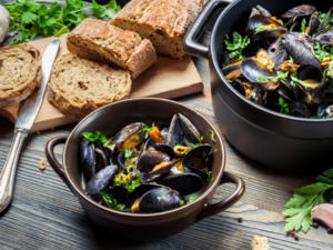 Miesmuscheln richtig zubereiten – so wird die Muschel auch für zu Hause ein Genuss - Tip