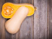 Butternut-Kürbis schälen: Hauptsache großzügig - Tip