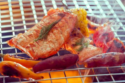 Lachs vom Grill – nutzen Sie seinen natürlichen Hitzeschild - Tip