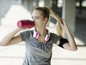 Isotonische Getränke beim Sport - Tip