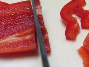 Paprika schneiden - Tip