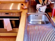 Strahlende Edelstahl-Flächen in der Küche ... - Tip