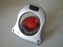 Erdbeeren schneiden - Tip