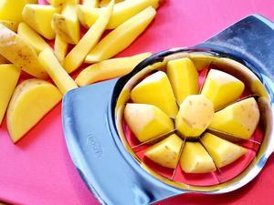 Gleichmäßige Kartoffelspalten ... - Tip