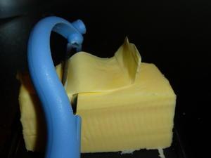 Zu harte Butter z.B. zum Frühstück... - Tip