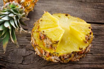 Ananas in Verbindung mit Gelatine - Tip