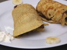 Easy Food: Gerollter Bananenpfannkuchen - Tip