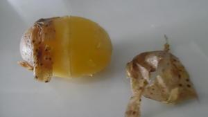 Pellkartoffeln schnell pellen - Tip