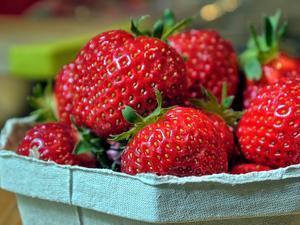 Erdbeeren marinieren - Tip