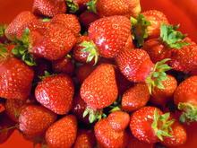 wenn Erdbeermarmelade die Farbe verliert... - Tip
