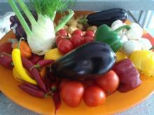 Biggi`s Tipp`s zu Gemüse = Auberginen müssen vor dem zubereiten - Tip