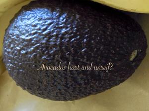 was tue ich mit unreifen harten avocados tipp. Black Bedroom Furniture Sets. Home Design Ideas