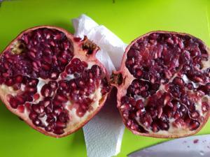 Biggi`s Tipp`s zu Obst = Granatapfel - Tip