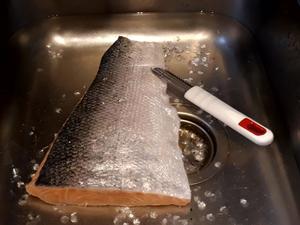 Fisch  entschuppen... - Tip