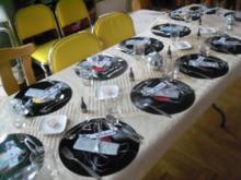 Tischdeko - Musikalisches Dinner - Tip