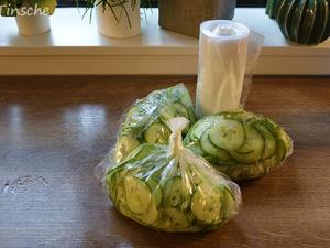 Salatgurken für den Vorrat - Tip